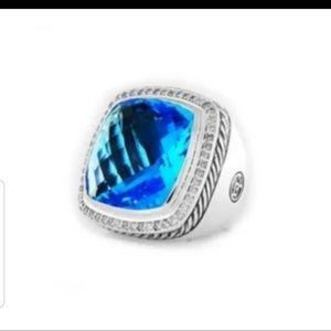 COLUMBUS SPECIAL! DAVID YURMAN BLUE TOPAZ RING